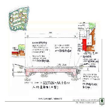 华尔兹乐章园林景观扩初-住宅内人行及车行道路平,侧道牙剖立面图图片