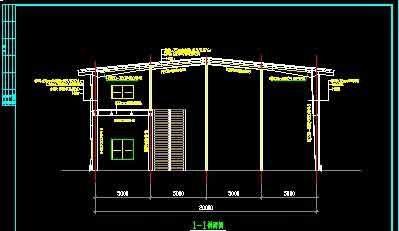 xx钢结构两层汽车展厅cad设计施工图