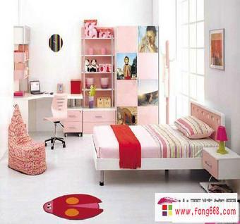 女孩子房间怎么装修可爱?女孩儿童房装修设计效果图