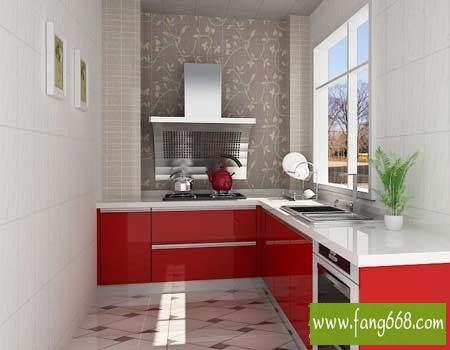 2012家用实用的小厨房装修设计图,经典装修深
