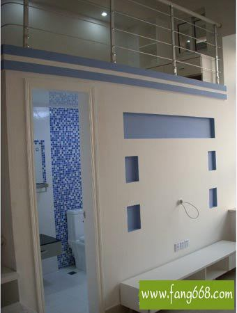 单身公寓装修设计第一季,30平米小户型复式楼