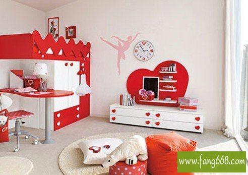 小面积儿童房装修图片