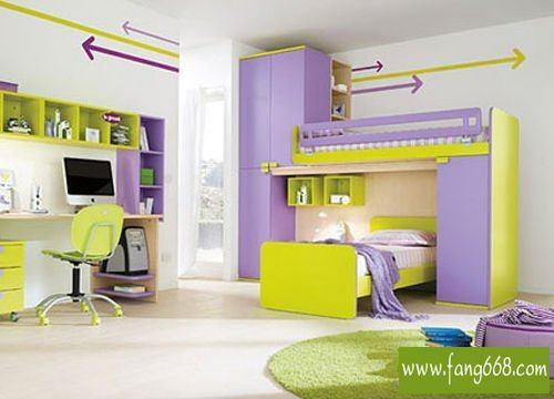 2013儿童房设计效果图大全