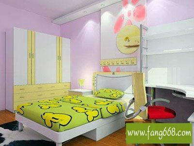 可爱的儿童房装修设计风格