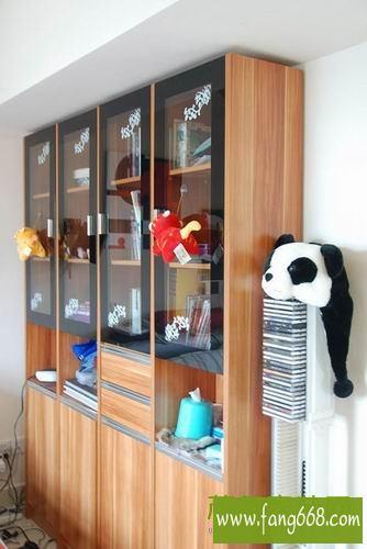 现代风格小户型装修欣赏 18平阁楼效果图 客厅与卧室
