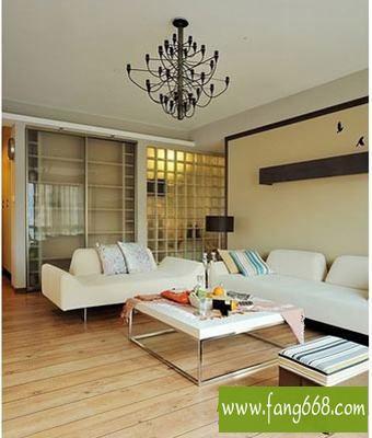 室内客厅天花板装修效果图片,经济实用省钱简约的天花板装饰