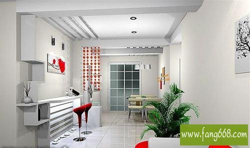 家庭客厅吧台设计图片图片