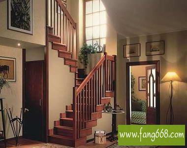 楼梯装修效果图,家居设计复式楼梯打造个性走廊