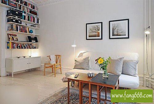 50平方单身公寓装修,都市丽人如何把只有50平方家设计栩栩