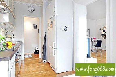 5平方小户型二居室效果图,家居室内设计典型案例再现