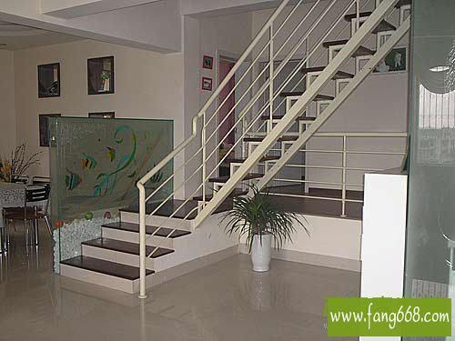 阁楼复式楼楼梯装修,大城小家复式漂亮空间