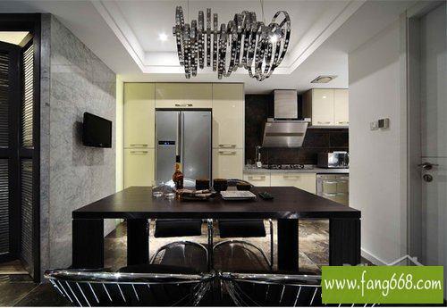现代欧式风格精致厨房装修