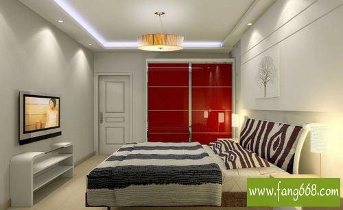 50款主卧室背景墙效果图,卧室电视机背景墙设计效果图片欣赏