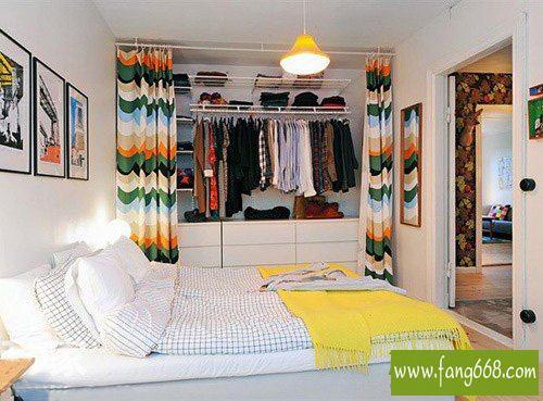 卧室衣柜内部效果图,2013衣柜装修设计高清效果图片