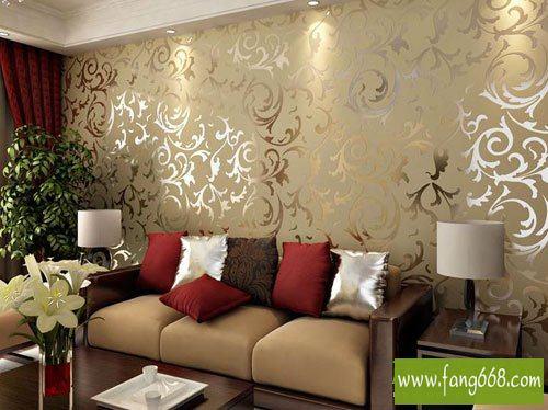 欧式风格客厅背景墙装饰画