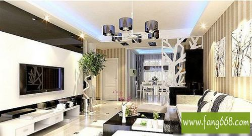 2013年现代简约风格家居装修效果图 现代简约风格装修效果