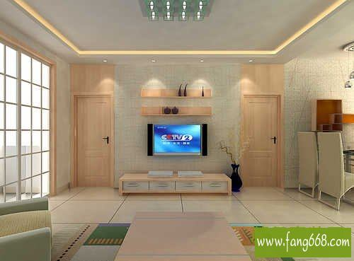 欧式风格电视背景墙,室内电视背景墙装修效果图大全