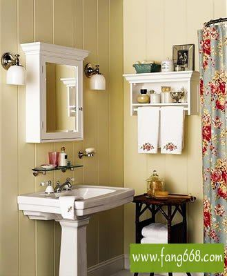 10款3平米卫生间卫浴装修样板间,享受生活的情