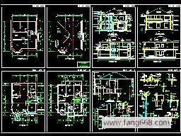 别墅简介:结构设计图纸,钢结构图纸符号,建筑工程结构图纸