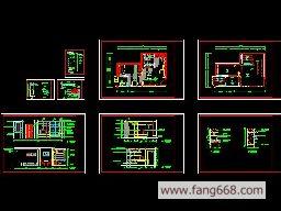 图纸,大小为345 kb, 类型为cad建筑图纸下载 - 装修装饰图纸|